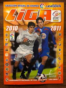 Album Liga Este 2010/11 Completo / Official sticker collection of the 2010/11