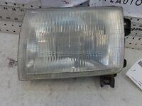 Head Light Headlamp 99 Nissan Frontier Driver Side Left 98 Pickup