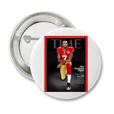 Take A Knee Colin Kaepernick Time Magazine  NFL  Protest Resist Button  BLM