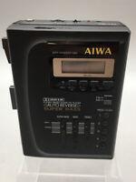 Aiwa HS-T65 FM/AM Wide Auto-Reverse  Stereo Cassette Player For Parts F17