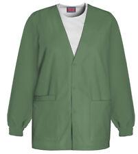 Nwt 5Xlarge Olive Cherokee Scrubs Workwear Cardigan Jacket 4301 Olvw