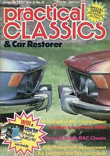 Practical Classics Magazine, Aug 1987 - Ford Zephyr, Alfa Romeo, Air tools