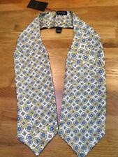 Cravatte e papillon da uomo giallo 100% Seta