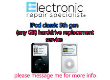 apple ipod classic 5th gen hard drive (replacement service)