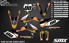KTM SX 85 2013-2016 motocross graphics kit decals MX stickers 2014 SX85 deco SMX