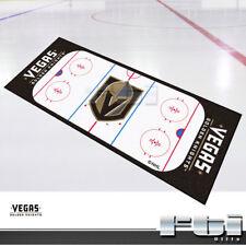 """Vegas Golden Knights NHL Hockey Rink Runner Floor Door Mat Rug Carpet 30"""" x 72"""""""