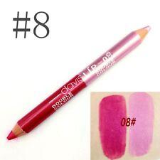 8 Color Professional Lipliner Waterproof Matte Glitter Lip Liner Pencil 12CM