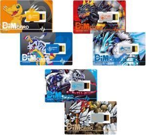 Bandai Digimon Vital Breath Dim Card Set 3 types