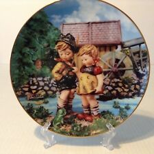 "M.J. Hummel Danbury Mint Little Companions ""Hello Down There� Collector Plate"