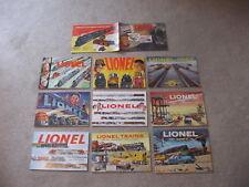 1950-1959 LIONEL TRAINS  CONSUMER CATALOGS N/MINT