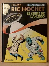 BD Ric Hochet 50 - EO 91 - dédicacé + Dossier -  Tibet - Duchâteau