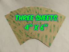 THREE SHEETS 3M 467MP DOUBLE SIDED ADHESIVE TAPE SUPER THIN STICKY PAPER CRAFTS