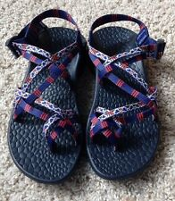 Chaco Ecotread X2 Sandal - Adjustable Straps - Women's Size 7 - Florentine Red