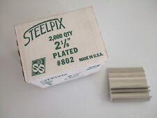 "Steelpix #802 Metal Flower Stemming Picks 2-1/8"" Long Full Box Of 2000"