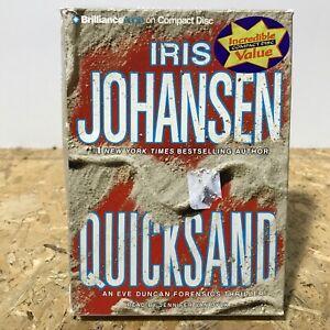 Quicksand by Iris Johansen 5 CD Abridged Audiobook Free US Shipping Eve Duncan