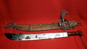 Vintage Unique Imacasa Tiburon GUATEMALA  Ruta Maya Mexico Sword Machete Knife