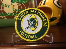 ......... RETRO 1960s HEISMAN STYLE/ LOMBARDI GREEN BAY PACKERS PATCH,STUNNING