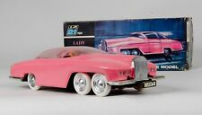 JR 21 Toys Lady Penelope's Fab 1 Friction Car. Rare. Boxed. 1960's Issue