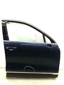 2011-2017 VOLKSWAGEN TOUAREG RIGHT FRONT DOOR SHELL NIGHT BLUE *FLOOD RECOVERY*
