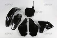 UFO Complete Plastics Kit Black Fits Suzuki RM85 2002-2014