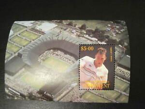 timbre : bloc Ivan LENDL tennis, neuf sans charnière St Vincent