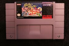 Pocky & Rocky for the Super Nintendo (SNES) original cartridge.