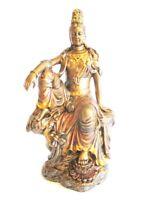 Ganesha Hinduismus,19 cm Polyresin bronzierte Figur 1280 gr.,Museums Kollektion