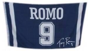 New 3 Feet x 5 Tony Romo Dallas Cowboys Jersey Flag House/Tailgate Banner 3x5