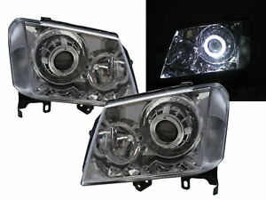 Colorado RC 08-12 FACELIFT Guide LED Halo Projector Headlight CH for HOLDEN RHD