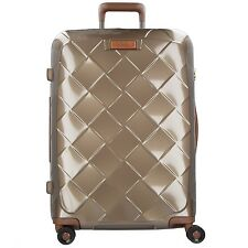 Stratic Leather And More 4-rollen Trolley L 76 Cm Champagner