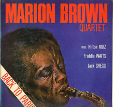 "MARION BROWN QUARTET ""BACK TO PARIS"" FREE JAZZ LP 1980 FREELANCE 002"
