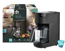 Tommee Tippee Steamer Blender Baby Food Maker In Black Brand New Boxed