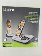 Uniden D1680-2 Digital Cordless Phones and Answering System.  Expandable.