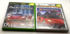 PROJECT GOTHAM RACING GAMES 1 & 2 FOR XBOX ~CHECK OUR OTHER GAMES FOR SALE~