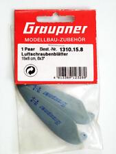 "Graupner 1310.15.8 Aubes emballages refermables en Nylon 6x3"" modélisme"