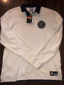 NWT KOBE BRYANT X NIKE SPORTSWEAR K.O.B.E. Polo Rugby Shirt Jersey.Sz M.Rare