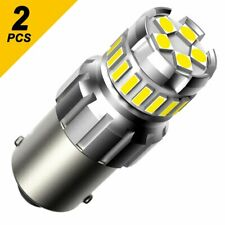 AUXITO 7506 1156 BA15S P21W LED Reverse Brake Parking Light Bulbs 6000K 2F Serie