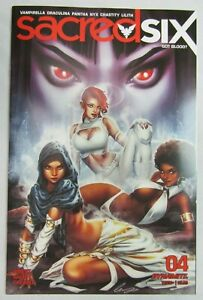 SACRED SIX #4  DYNAMITE COMIC BOOKS 2020 Vampirella