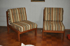 2 x sillón lounge chair Teak mid CENTURY Danish Design comodidad?
