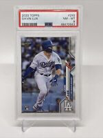 2020 Topps Series 1 Gavin Lux Rookie Card RC #292 PSA 8 Dodgers
