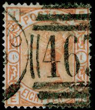 SG156, 8d orange, USED. Cat £350. EI