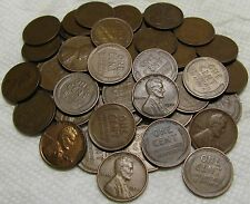 1 ROLL OF 1932 P PHILADELPHIA LINCOLN WHEAT CENTS FROM PENNY COLLECTION