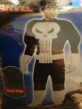 Adult Size Plus Punisher Muscle Costume #127