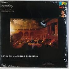 WALTON: Belshazzar's Feast. PREVIN, Luxon Baritone MCA Classics Digital LP NM