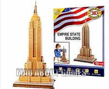 EMPIRE STATE BUILDING - 52 CM HIGH - 3d PUZZLE - NEW YORK Xmas Gift Monument