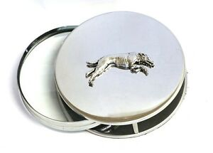 Greyhound Racing Magnifying Reading Glass Office Desktop Sight hound Gift 165