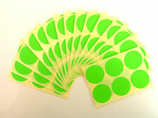 33mm Round dot Stickers Coloured Circles Circular Sticky Labels - 32 colours