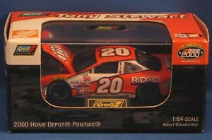TONY STEWART #20 HOME DEPOT 2000 REVELL 1:64 LIMITED EDITION DIECAST 1 OF 13,176