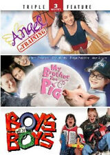 My Brother the Pig / Angel in Training / Boys Will Be Boys (DVD, 2-Disc Set)
