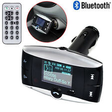 Bluetooth FM Transmitter Modulator Car Kit Wireless MP3 Player SD USB LCD Remote